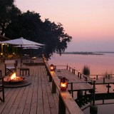 Zambia Royal Zambezi Lodge Deck